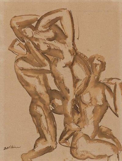 Ossip Zadkine, 'Figures'