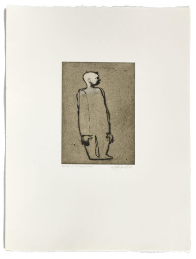 Louis-Pierre Bougie, 'Tête blanche', 1997