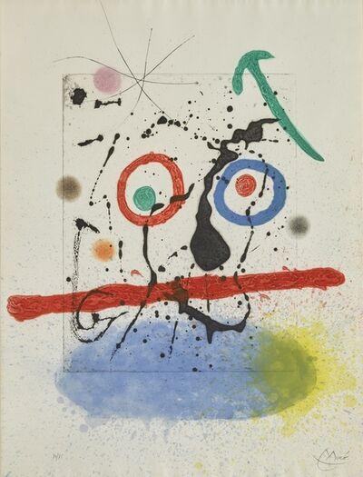 Joan Miró, 'Le Scieur de Long (D. 458)', 1968