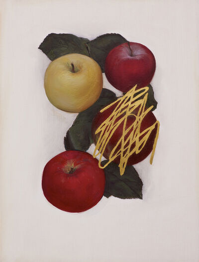 Jen Mazza, 'Untitled (4 Apples/Gold)', 2014
