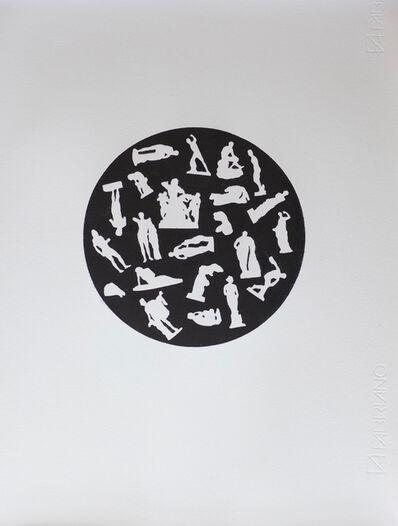 Alexander Massouras, 'Revolution (circular classical print after Jean Philippe Guy le Gentil), ', 2017