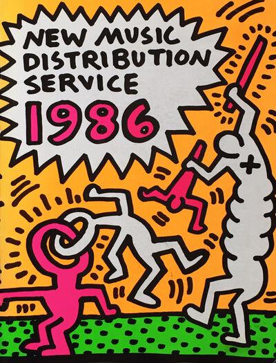 Keith Haring, 'Rare Keith Haring illustrated catalog ', 1986