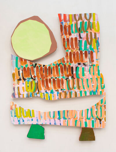 Justine Hill, 'Hold the capstone 3', 2019