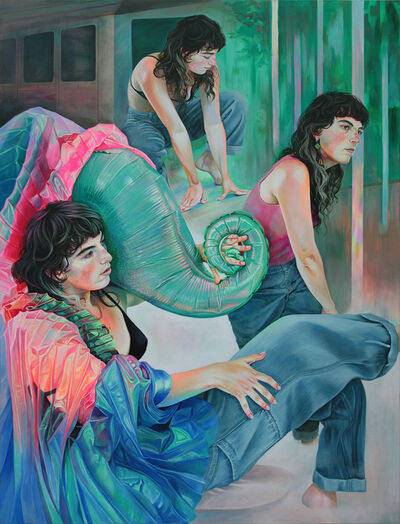 Martine Johanna, 'The Magic Statues', 2018