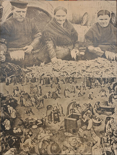 Jirí Kolár, 'Fish and People', 1951-1967