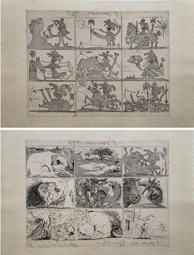Pablo Picasso, 'Sueño y Mentira de Franco (Planche I and II)', 1937