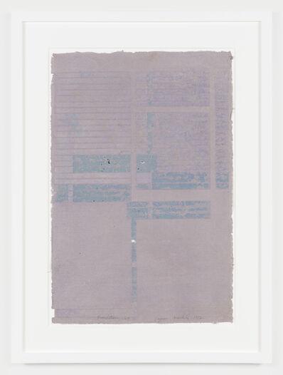 Virginia Jaramillo, 'Foundations 112-A', 1982