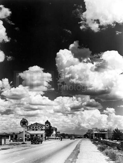 Andreas Feininger, 'Texaco Station on Route 66', 1947