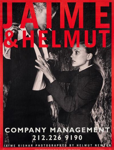 Helmut Newton, 'Jaime & Helmut', ca. 1990