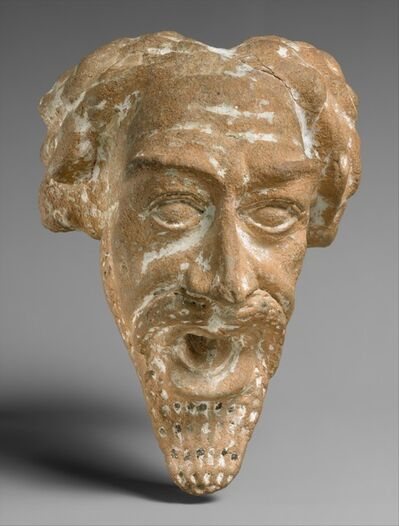 Unknown Parthian, 'Spout in the form of a man's head', ca. A.D. 1st–2nd century