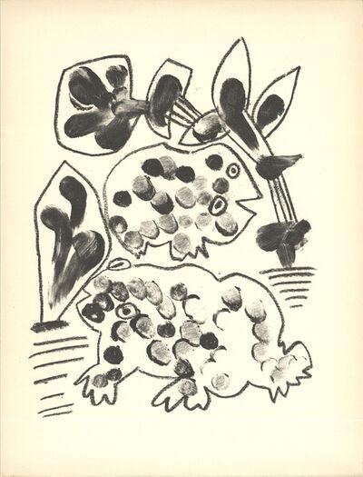 Pablo Picasso, 'De Memoire D'Homme VIII', 1950