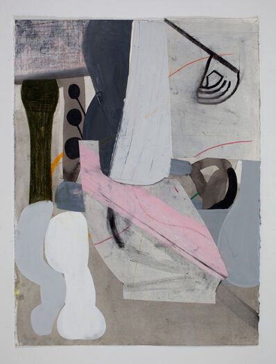 Amy Sillman, 'A Shape that Stands Up and Listens #31', 2012