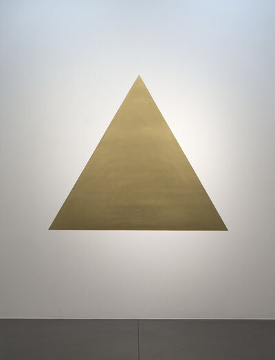 Olivier Mosset, 'Golden Triangle', 2007