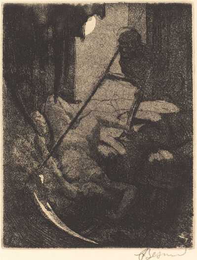 Albert Besnard, 'The Mystery (Le mystère)', 1900