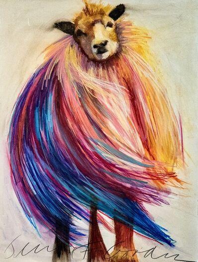 Jeanne Finkelstein Goodman, 'Windy Sheep', 2018