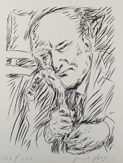 Pericle Fazzini, 'Giuseppe Ungaretti', 1965