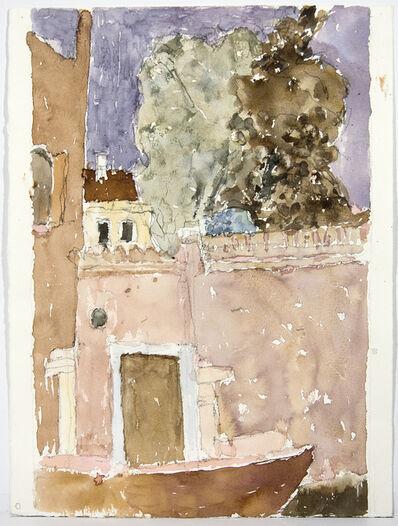 John Fox, 'Canal with Sandolo Cannaregio, Venice', 2006