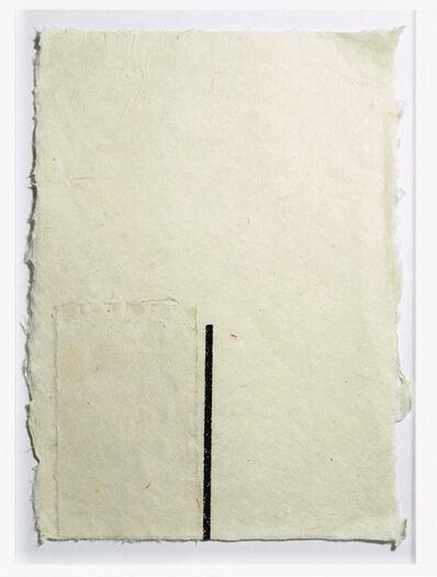 Mira Schendel, 'Bastão Preto [Black Stick]', 1986