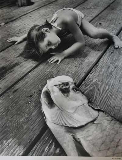 Alfred Eisenstaedt, 'What A Big Fish', 1959 / 1987