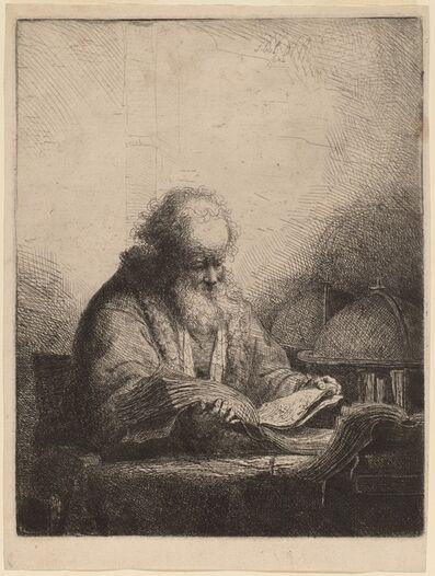 Ferdinand Bol, 'An Old Man Reading', 1642