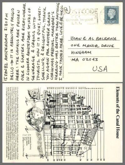 Carl Andre, 'Handwritten letter from Amsterdam the artist's sister', 1982