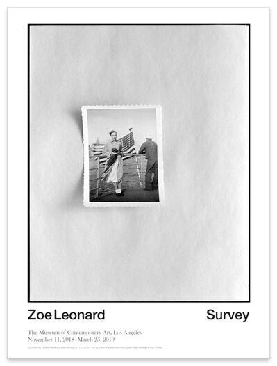 Zoe Leonard, 'Zoe Leonard Exhibition Poster', 2018