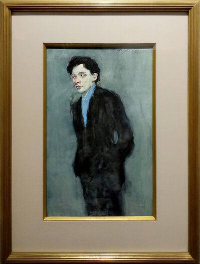 Malcolm T. Liepke, 'Man in Blue Suit', 1999