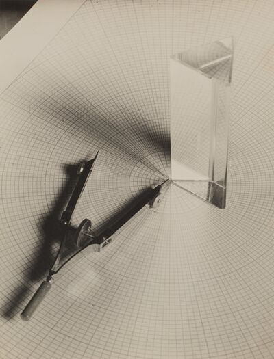 Gyorgy Kepes, 'Untitled (Prism, compass, grid)', 1938