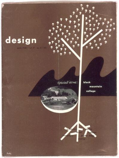 Alvin Lustig, 'Cover for Design Magazine, April 1946', 1946