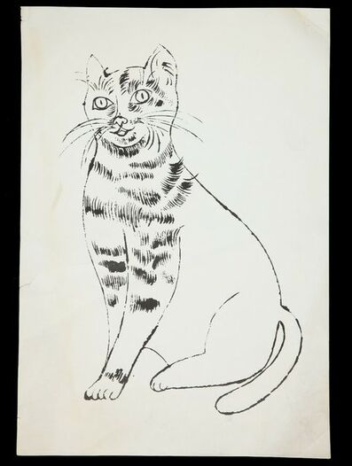 Andy Warhol, '25 Cats Name Sam and One Blue Pussy', 1954