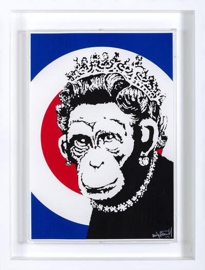 Banksy, 'Monkey Queen (Signed)', 2004