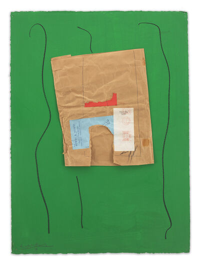 Robert Motherwell, 'Bowes & Bowes with Green', ca. 1968/ca. 1973