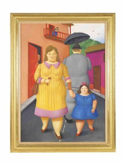 Fernando Botero, 'The Street', 2011