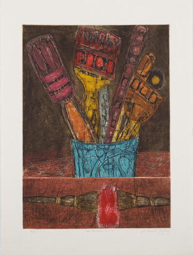 Juarez-Castillo Claudio, 'Mis Penciles de Hoy', 1993