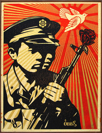 Shepard Fairey, 'Chinese Soldiers', 2006