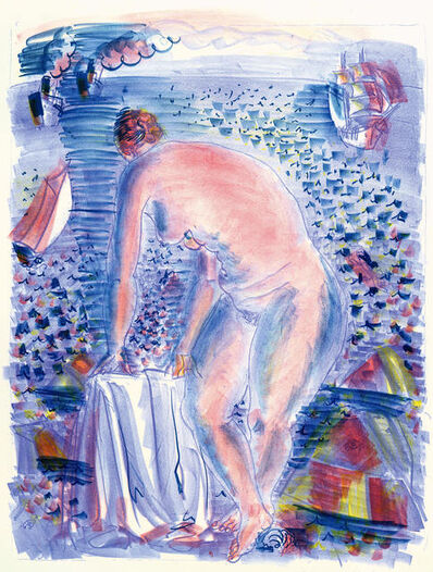 Raoul Dufy, 'Le grande Baigneuse (The Large Bather)', 1928