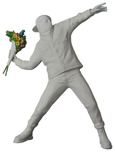 Banksy, 'FLOWER BOMBER GESSO ', 2019
