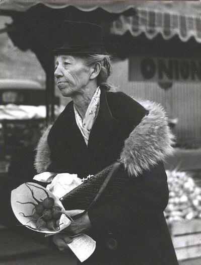 Minor White, 'Untitled [San Francisco's Farmers Market]', ca. 1950
