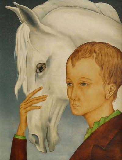 Anne-Marie Avon Campana, 'Man and a horse'