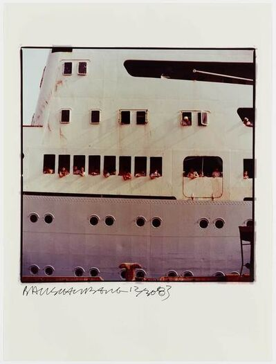 Robert Rauschenberg, 'Study for Chinese Summerhall - Ship', 1983