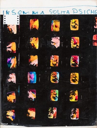 Mario Schifano, 'Insomma solita psiche', 1972