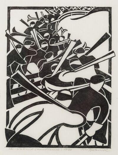 Lill Tschudi, 'Ski Weekend (Coppel LT 41)', 1935