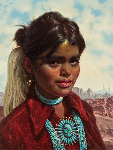 Ralph Brownell McGrew, 'Navajo Gioconda', 20th/21st Century