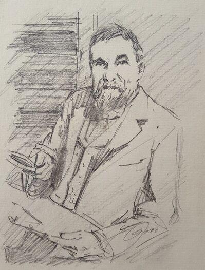 Anders Leonard Zorn, 'Frederick Keppel, Art Dealer', ca. 1895