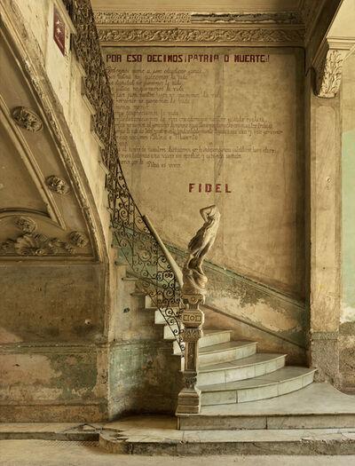 Michael Eastman, 'Fidel's Last Stairway, Havana', 2014