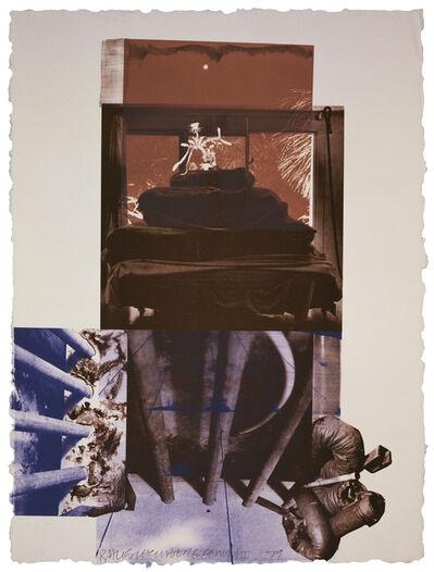 Robert Rauschenberg, 'Rookery Mounds - Night Tork', 1979
