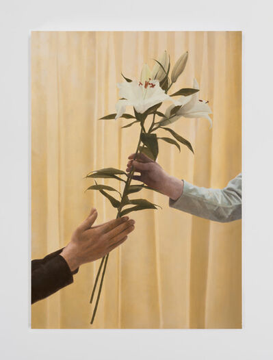 Paul Winstanley, 'Lilies 2 (After Filippo Lippi) ', 2019