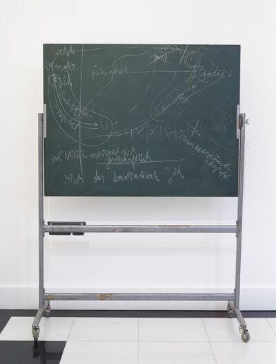Joseph Beuys, 'Okologie und Sozialismus (Ecology and Socialism)', 1980
