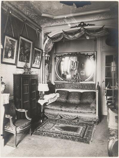Eugène Atget, 'Interior of the Home of Mademoiselle Sorel, 99 avenue des Champs Élysées', 1910-printed later