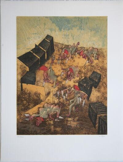 Roberto Matta, 'Hom'mere Chaosmos Plate 7', 1975